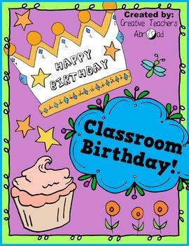 Classroom Birthday Party Activity