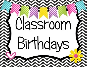 Classroom Birthdays Owl Theme