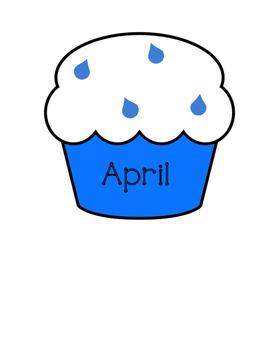Classroom Birthdays - Cupcakes