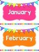 Classroom Birthdays ~ Editable!
