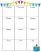 Classroom Birthdays List