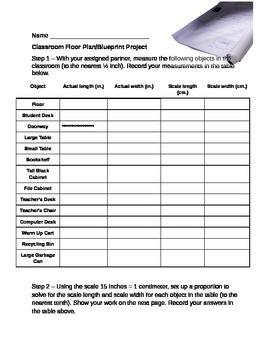Classroom Blueprint Project