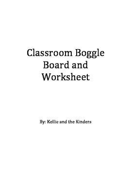Classroom Boggle