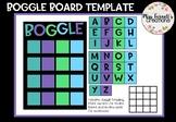 Classroom Boggle board