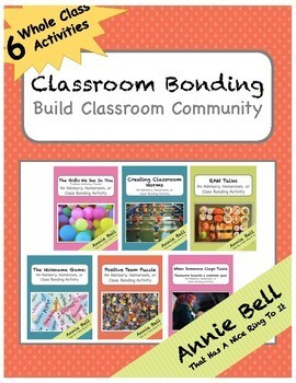 6 Bonding Activities - Make Class A Team! BUNDLE