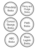 Classroom Book Basket Labels - 1st/2nd Grade Categories