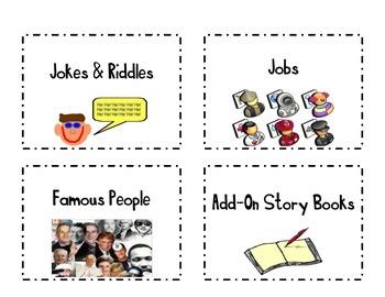 Classroom Book Basket Labels Set 2