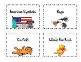 Classroom Book Basket Labels Set 2