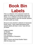 Classroom Book Bin Labels-52