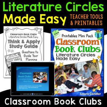 Literature Circles   Classroom Book Clubs (Step-by-Step Lessons and Printables)