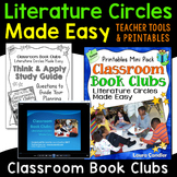 Literature Circles | Classroom Book Clubs (Step-by-Step Le