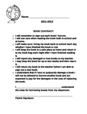 Classroom Book Contract