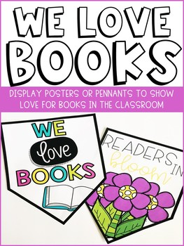 Classroom Book Posters