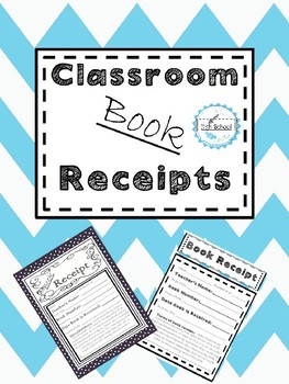 classroom book receipts by bell 2 bell high teachers pay teachers