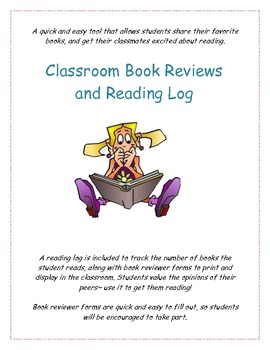 Classroom Book Reviews and Reading Log