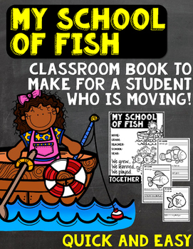 Classroom Book- Student Moving