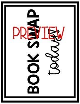Host a Classroom Book Swap! (Editable Bundle)