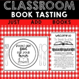 Classroom Book Tasting Activity