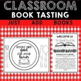 Classroom Book Tasting Activity