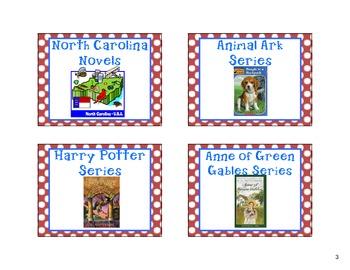 Classroom Bookbin Labels