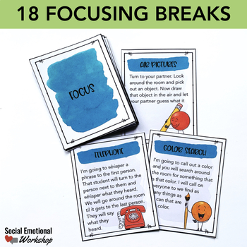 Self Regulation Brain Breaks for the Classroom