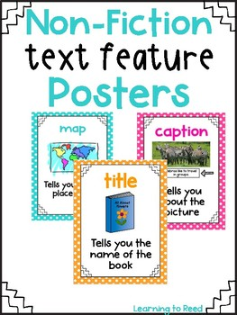 Classroom Brights Text Feature Posters