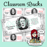 Classroom Buck - Classroom Teacher Student Reward Edgar Allan Poe