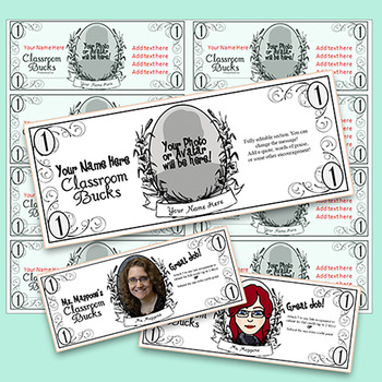 Classroom Buck - Teacher Student Reward CUSTOM PRODUCT