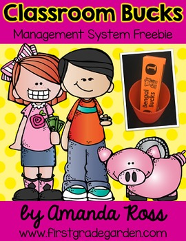 Classroom Bucks - A Classroom Management Freebie