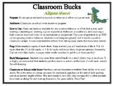 Classroom Bucks-Alligator Mascot