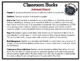 Classroom Bucks-Astronaut Mascot