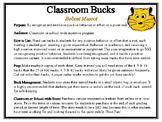 Classroom Bucks-Bobcat Mascot