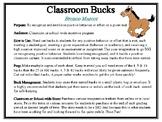 Classroom Bucks-Bronco Mascot