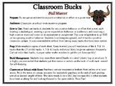 Classroom Bucks-Bull Mascot