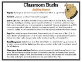 Classroom Bucks-Bulldog Mascot