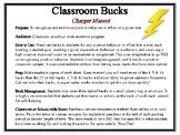 Classroom Bucks-Charger (Lightning) Mascot