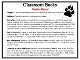 Classroom Bucks-Panther Mascot