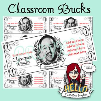 Editable Classroom Bucks Teaching Resources | Teachers Pay Teachers
