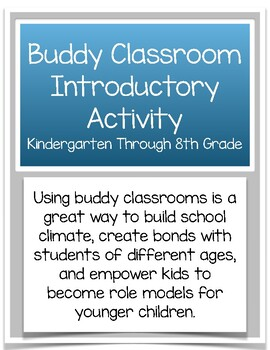 Classroom Buddies Introductory Activity