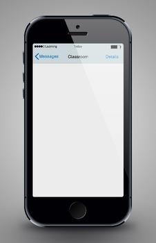 Classroom Bulletin Board: iPhone Poster