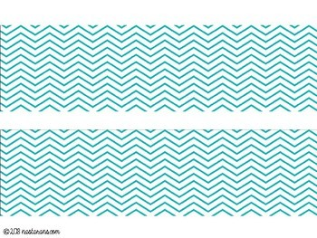 picture regarding Printable Bulletin Board Borders titled Printable Bulletin Board Border-Chevron