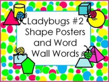 Classroom Bundle- Ladybugs #2 (bright colors)