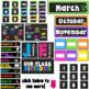 Neon Theme- Class Decor