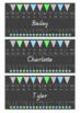 Classroom Bundle Pack - Ocean Flags