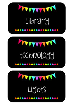 Classroom Bundle Pack - Rainbow Flags