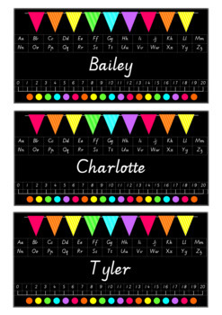 Classroom Bundle Pack - Rainbow Flags