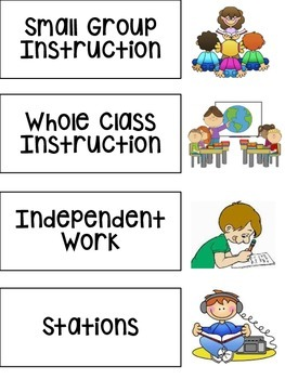 Classroom CHAMPS Signs