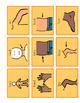 Classroom CORE Book-HIGH FREQ NOUNS (AAC, Natural Aided Langauge)