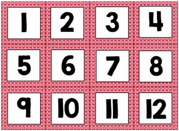 Editable Classroom Calendar