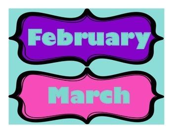 Classroom Calendar